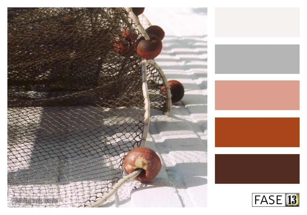 fase13 kleurinspiratie voor je interieur, fishing net tones